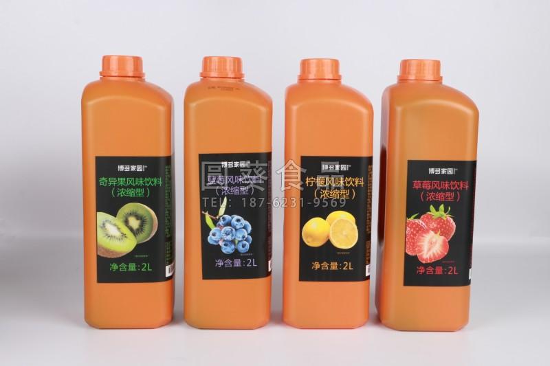 濃縮型水果風味飲料